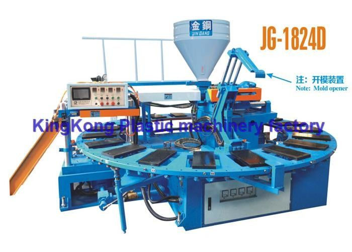 Automatic Shoe Manufacturing Machines For PVC Slipper / PCU Sandal