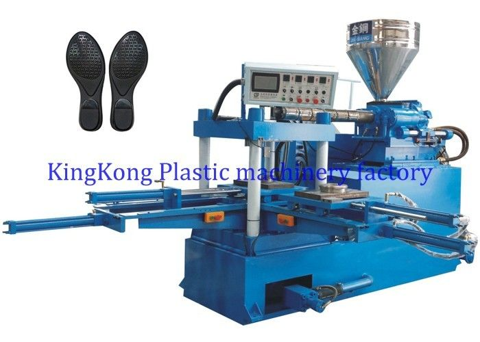 Double Stations Automatic Shoe Making Machine For Dressed Shoe And Flip Flop