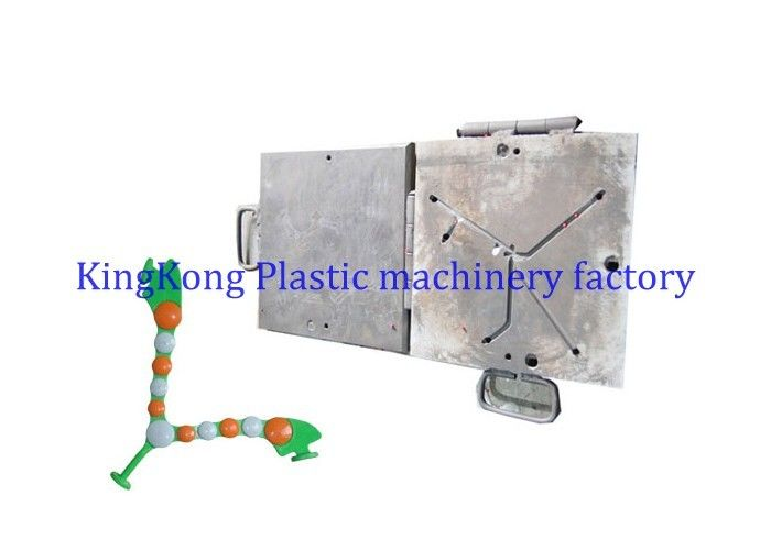 Aluminum PVC Strap Moulds / PVC Uppers Moulds For Rotary Shoe Making Machine