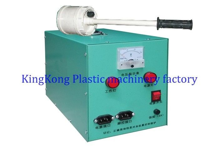 Manual Electrostatic Flocking Machine , Flock Printing Machine For Footwear Outsole